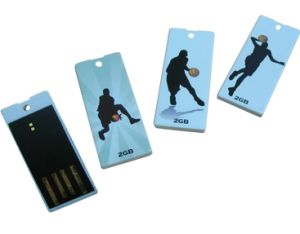 Plastic Mini USB Flash Drive, Supports USB 1.1 and 2.0 Interfaces, Suitable for Promotional Gift pictures & photos