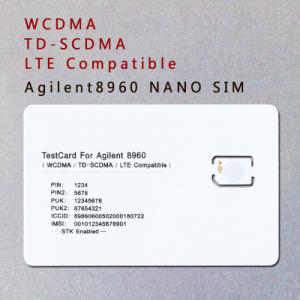 3G 4G WCDMA TD-SCDMA Lte Test Card Nano SIM Card for Agilent 8960 pictures & photos