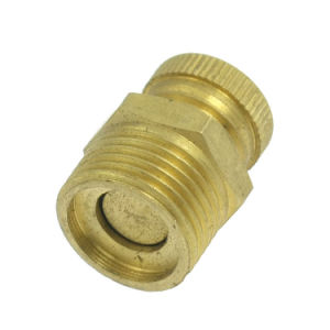 "Air Compressor Water Drain Valve PT 3/8"" Male Thread Brass Tone pictures & photos"