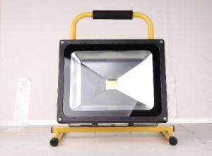 220V 50W 6600mAh Rechargeable Floodlight pictures & photos