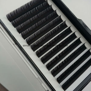Natural Black Korea Synthetic Individual Lashes 12 Line Per Tray pictures & photos