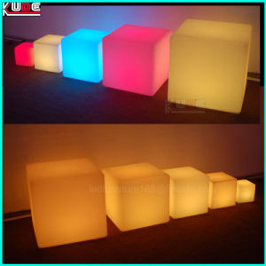 Rechargeable Cube Table and Chair for Party pictures & photos