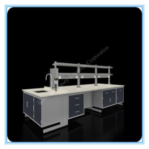 Factory Price Chemistry Laboratory Steel Side Bench pictures & photos