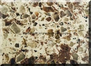 Wholesale Multiple Color Artificial Quartz Stone Slab pictures & photos