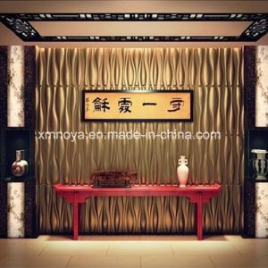 Fireproof Sound Absorption 3D Wall Panel for Hotel Lobby Decorative pictures & photos