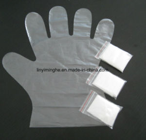 Disposable PE / Folded /HDPE/LDPE Pair Glove