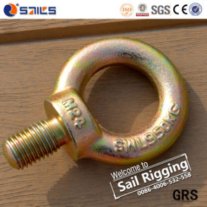 Galvanized Carbon Steel Drop Forged Eye Screw pictures & photos