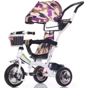 2017 Popular Multi-Function Baby Tricycle, Baby Stroller 4 in 1 Tricycle pictures & photos