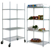 Adjustable NSF Commercial Heavy Duty Supermarket Display Rack (HD245472A4C) pictures & photos