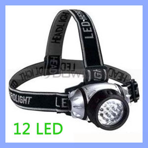 Multifunction High Power Emergency 12 LED Headlamp Head Light with Elastic Strap pictures & photos