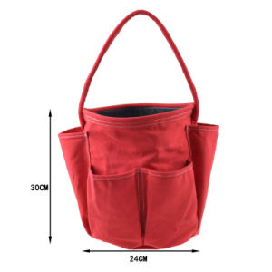 Wholesale OEM Portable Durable Round Garden Trimming Tool Bag pictures & photos