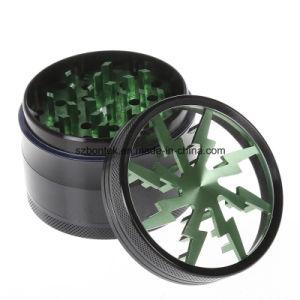 Aluminum Zinc Alloy Herb Grinder for Smoking Tobacco Grinder Herb pictures & photos