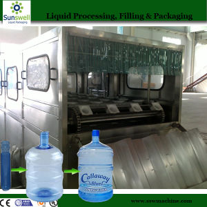 19L Barrel Filling Machine for Mineral Water Drinking (Sunswell) pictures & photos