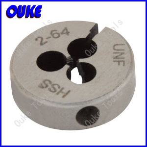 ANSI B94.9 Unc/Unf Adjustable HSS Round Dies pictures & photos