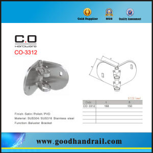 Stainless Steel Wall Plate / Base Plate for Railing pictures & photos