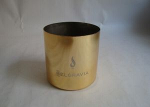 Metal Candle Cup with Copper Colour pictures & photos