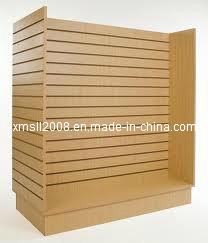 Wood Gondola Slatwall for Display (Gier-SL01) pictures & photos