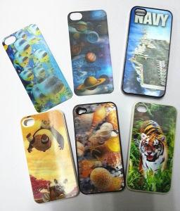 Decorative Custom Design 3D Lenticular Phone Sticker pictures & photos