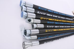 machinery Parts of Rubber Hydraulic Hose pictures & photos