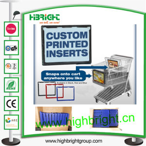 Shopping Trolley Front Ads Frames pictures & photos