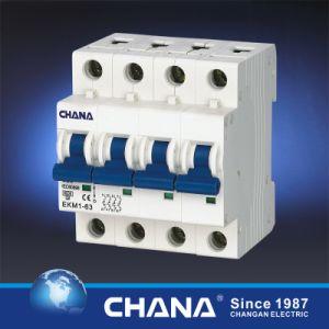 6ka/10ka 4p Mini Circuit Breaker with TUV Approval pictures & photos