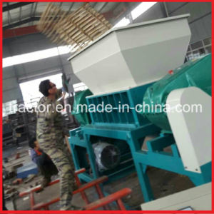 Double Shafts Wood/Bamboo Raft Crusher Machine pictures & photos