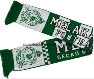 100%Acrylic Football Soccer Fans Scarf pictures & photos