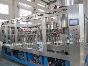 Carbonated Water Balanced Pressure Filling Machine (DCGDF32-32-8) pictures & photos