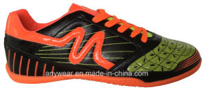 Soccer Indoors Shoes Football Sneakers (815-6642) pictures & photos