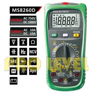 Professional 20000 Counts Digital Multimeter (MS8260D) pictures & photos