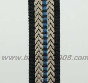 Factory Manufactured Jacquard Webbing Strap #1501-19b pictures & photos