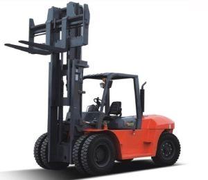 Hydraulic 10 Ton Isuzu Diesel Forklift, pictures & photos