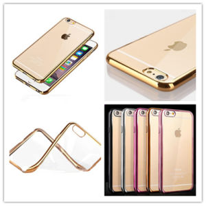 for iPhone/Samsung TPU Case Electroplated Protective Cell Phone Cover Case pictures & photos