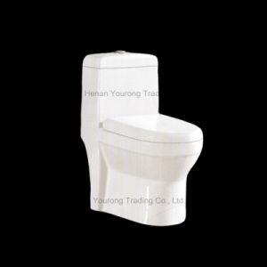 Ceramic Siphonic One Piece Sanitary Ware (No. 650)
