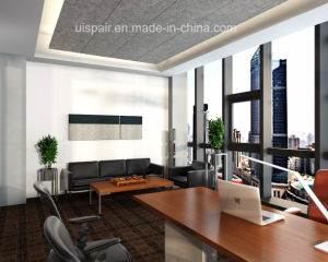 Uispair Modern Hanging Wool Acoustic Panel in Sound Absorption Insulation Material for Office Hotel Home Decoration pictures & photos