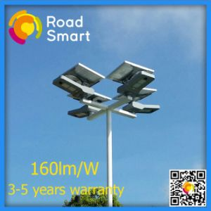 150W Solar Panel Bridgelux LED Street Light with Motion Sensor pictures & photos