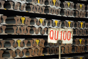 Crane Rail Heavy Rail Steel Rail (QU100 YB/T5055-93)