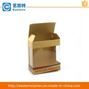 Kraft Paper Packaging Box with PVC Window pictures & photos