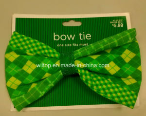 Sat Patrick′s Day Bow Tie (WA001) pictures & photos