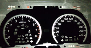 Customize Tactile PC / Pet RoHS Car Dashboard Graphic Overlay Panel pictures & photos