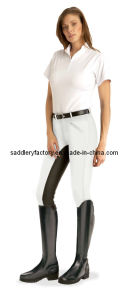 Cotton Spandex Lady Colorful Riding Breeches (SMB3058) pictures & photos