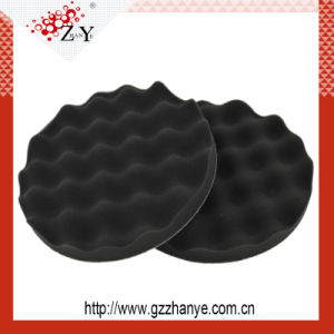 High Quality Single Sided Black Foam Polishing Pad pictures & photos