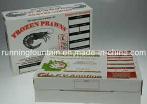 Paper Box for Packing 5kg Fresh/Frozen Prawn