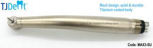 Max3 Titanium Coated Body Quiet and Durable Dental Handpiece (MAX3-SU) pictures & photos