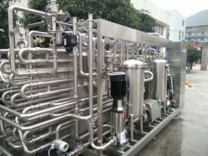 Full Automatic Tubular Milk Pasteurizer pictures & photos