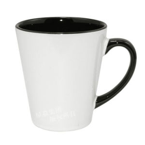 12oz Black Inner &Rim Color Latte Mug pictures & photos