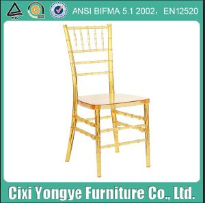 Resin Wedding Chiavari Chair with Cushion pictures & photos
