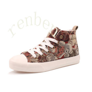 New Fashion Children′s Canvas Shoes pictures & photos