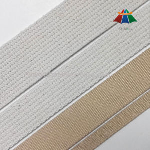 White and Khaki Cotton Webbing pictures & photos
