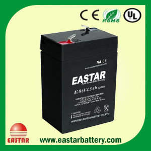 6V 4.5ah VRLA Battery (EA6-4.5) pictures & photos